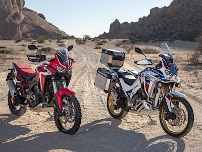 The latest 2020 Honda Africa Twin Adventure Sports